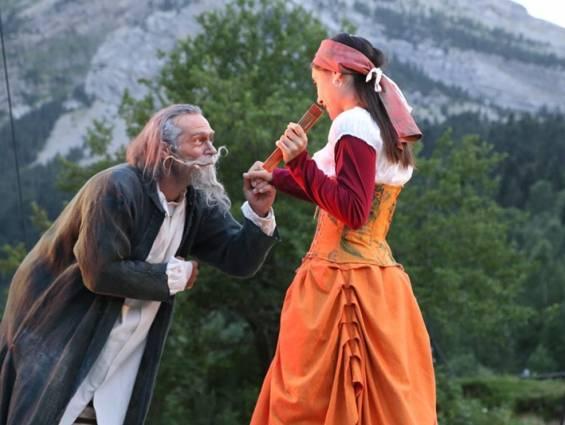 Extraits du spectacle Don Quichotte